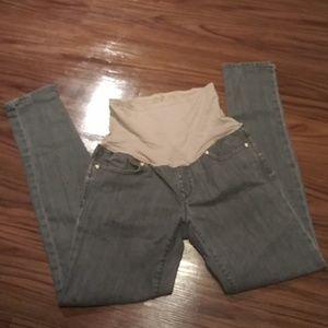 Gray GAP Always Skinny MATERNITY Jeans 29/8
